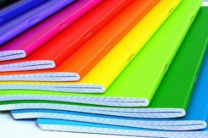 Color-coded notebooks
